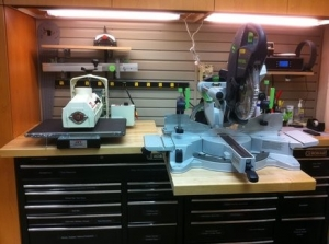 Retractable Surface Workbench