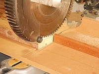 Sliding Miter Saw Depth Stop Jig