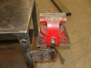 Table Leg Vise Mount
