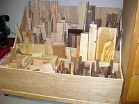 Surplus Lumber Storage