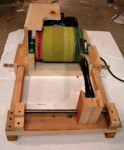 Turning Tool Sharpening System