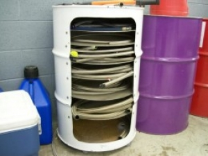 Homemade Braided Steel Line Storage Container HomemadeToolsnet
