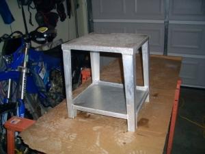Astounding Homemade Aluminum Motorcycle Stand Homemadetools Net Short Links Chair Design For Home Short Linksinfo