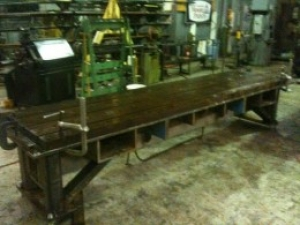 Heavy-Duty Bending Table