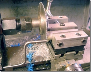 Taig Lathe as a Cutoff Saw