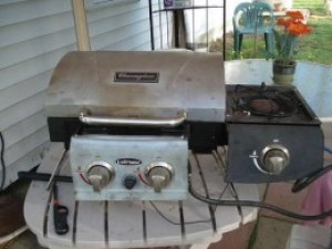Modified Camping Grill