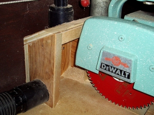 Radial Saw Dust Collector
