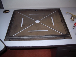 Folding Welding Table