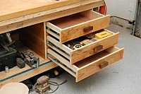 Workbench Drawer Storage