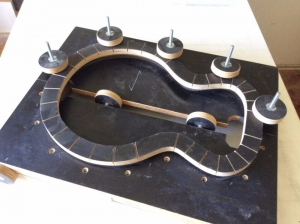 Guitar Body Mold