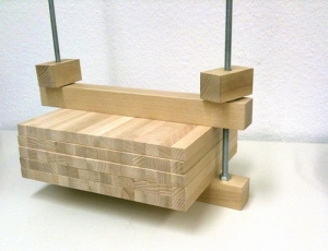 Wooden Bookpress