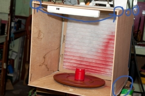 Homemade portable paint booth homemadetools homemade portable paint booth solutioingenieria Images