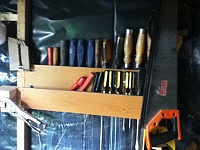Chisel and Screwdriver Rack