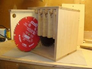 Homemade Saw Blade Storage Box Homemadetools Net