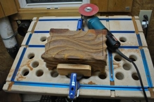 Homemade Sculpting And Downdraft Table