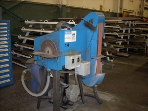 Belt and Disc Grinder