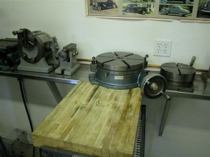 Mill Tooling Cart