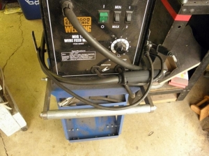Welding Cart Handle Modification