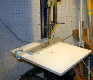 Bandsaw Quick-Change Table