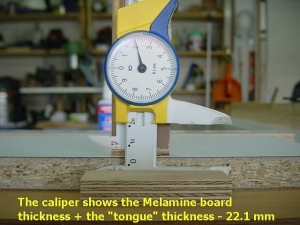 Modified Woodworking Caliper