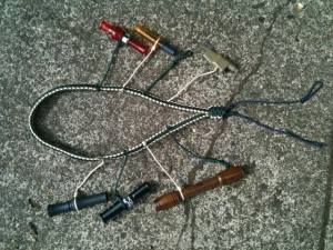 Homemade Duck Call Lanyard