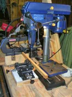Drill Press Mortiser