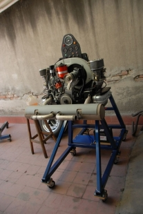 Aircooled Engine Test Stand