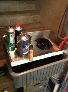 Parts Washing Tray