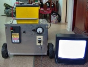 Lawnmower Power Generator