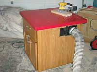 Outfeed and Sanding Table