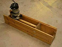 Fluting Jig for Turned Spindles