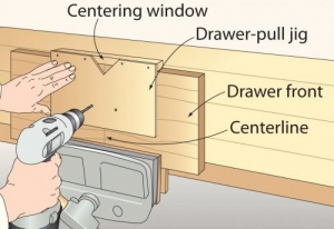 Drawer Pull Jig