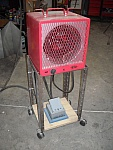 Shop Heater Stand