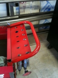 Air Tool Cart Rack