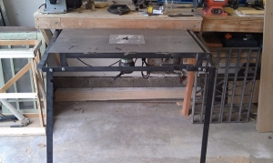 Hide-Away Router Table
