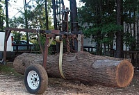 Log Track and Hauler