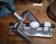 Egg Decorating Lathe