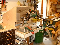 Slide-Out Miter Saw Station
