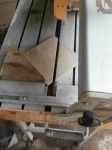 Tile Saw Miter Guide
