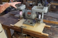 Portable Bench Grinder Base