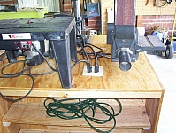 Power Tool Workstation