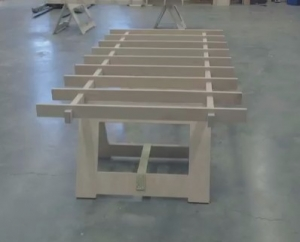 Portable Track Saw Table