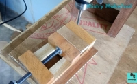 Wood Drill Press Vise