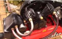 Air Compressor Sound Reduction Modification