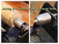 Wood Lathe Live Center