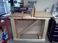 Mobile Lathe Workbench
