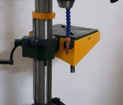 Drill Press Cooling System Catch Tray