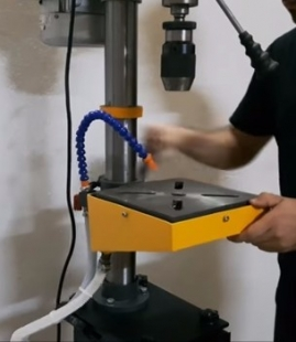 Drill Press Cooling System