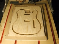 Guitar Body and Neck Jig
