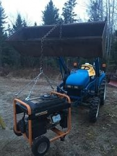 Portable Generator Lift System
